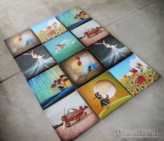 Cindy Thornton Art - Canvas Prints