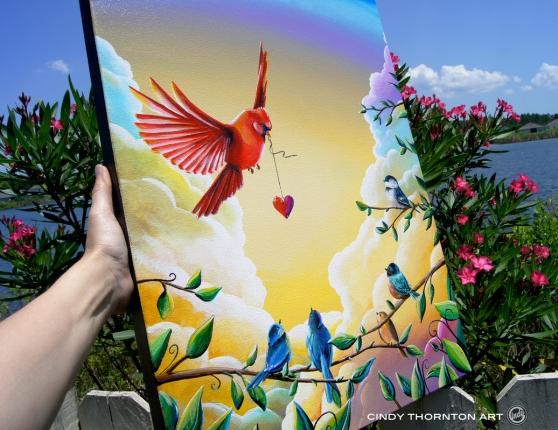 This Heart of Mine - Cindy Thornton Whimsical Fine Art