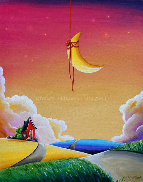 Dreamville - Original Painting